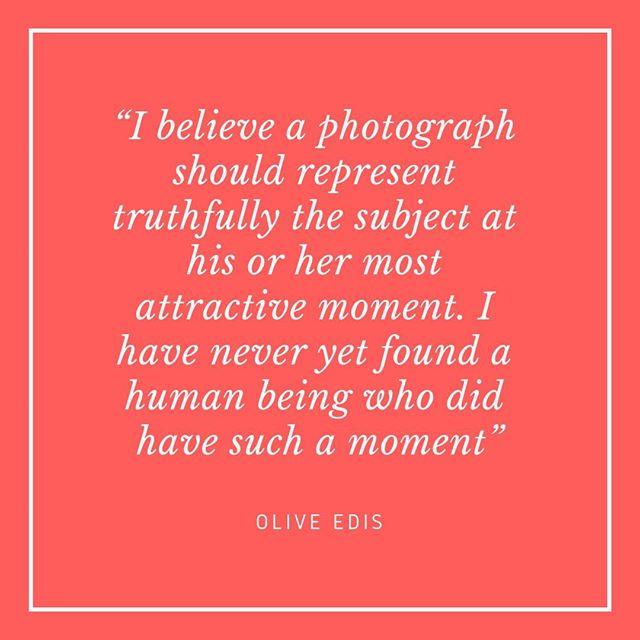 """""""I believe a photograph should represent truthfully the subject at his or her most attractive moment. I have never yet found a human being who did have such a moment"""" - Olive Edis ⠀⠀⠀⠀⠀⠀⠀⠀⠀ ⠀⠀⠀⠀⠀⠀⠀⠀⠀ Olive Edis was Britain's first female war photographer, photographing British women's services and the battlefields of the first world war in 1918 and 1919. The Imperial War museum have a fantastic online collection of her work and aside from the quality of some of the photos (a little blurred around the edges) the composition looks like something from the 1960s. Despite being recognised in her time, it wasn't until 2016, 61 years after her death, that the first solo exhibition of her work was held. Her work continues to be celebrated with the photographer Rankin making a documentary about her in 2017.⠀⠀⠀⠀⠀⠀⠀⠀⠀ ⠀⠀⠀⠀⠀⠀⠀⠀⠀ Olive Edis, like my other Unconventional Mentors this week didn't have children, although she did become step mother to the two adult children of her husband who she married when she was 52. It interests me that three women who produced so much art, travelling to dangerous places around the world, all didn't have children. It's not for me to know why, but it makes me think about the choices women had to make between children and a career and whether or not things are different in 2019. Even if you don't have or want children, the choices you make in your work impact your life and vice versa. How do you balance the needs of the two in your life?⠀⠀⠀⠀⠀⠀⠀⠀⠀ #oliveedis #womenphotographers #firstworldwarartists #womenatwar #careeradvice #lifeadvice #strongwomen #inspiringwomen #blackandwhitephotography #worklifebalance #unconventionalmentors"""
