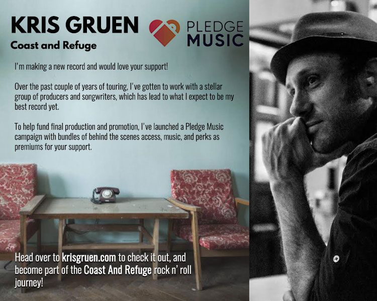 I'm making a new record and would love your support!  Over the past couple of years of touring, I've gotten to work with a stellar group of producers and songwriters, which has lead to what I expect to be my best record yet.  To help fund final production and promotion, I've launched a Pledge Music campaign with bundles of behind the scenes access, music, and perks as premiums for your support.  To support Coast and Refuge and become part of the rock n' roll journey,  visit the Pledge Music page .