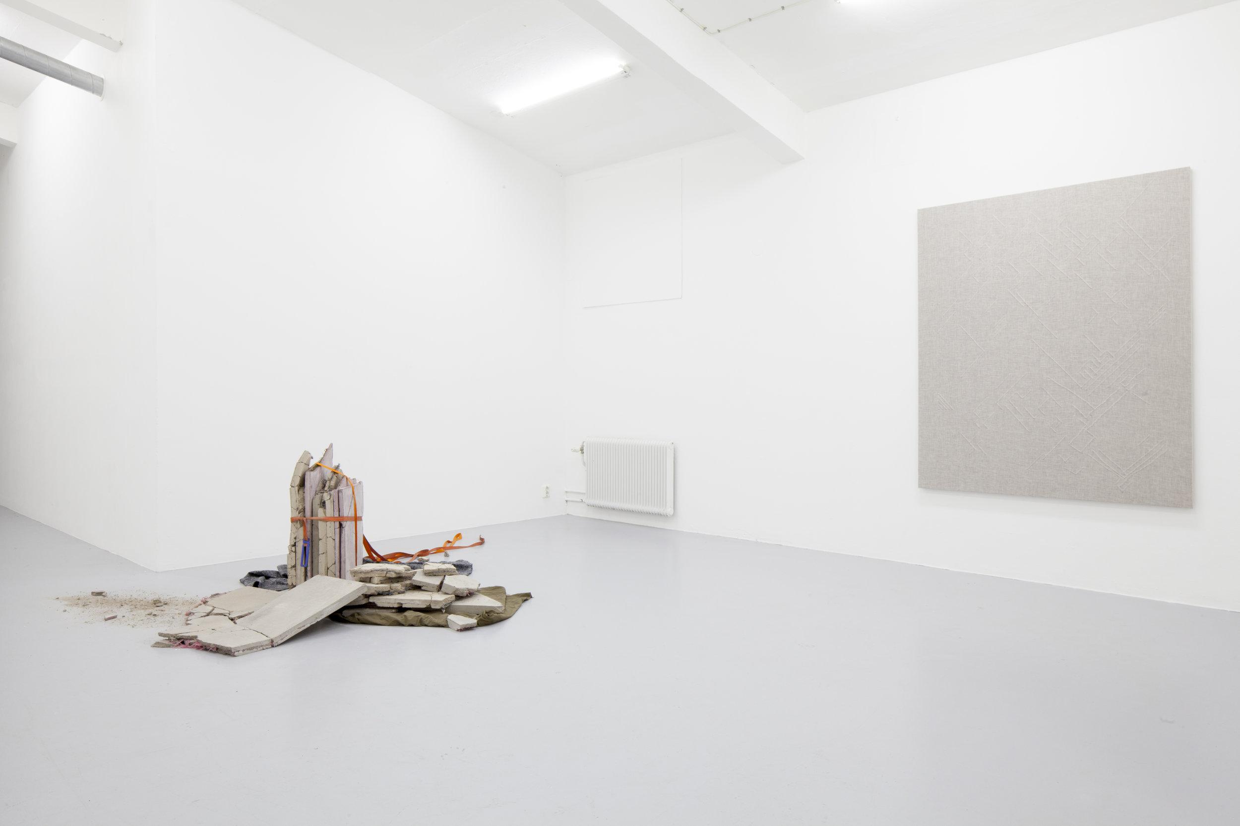 Installation view, Pareidolia, KHM Gallery
