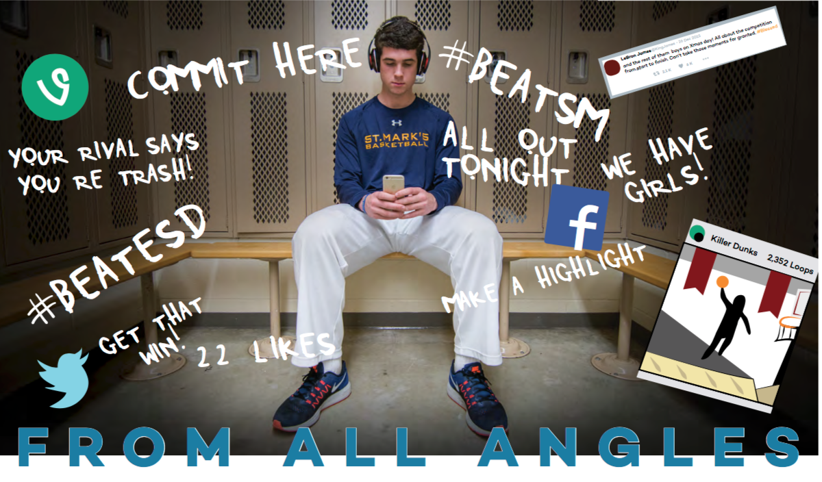 This was one of the first graphics I have ever done for a story package. This story was about the role of social media within our athletics program, and I converted familiar phrases that every high school student knew into a graphic format.