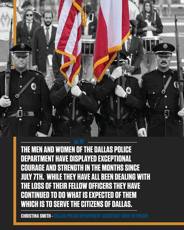 An exclusive interview with Assistant Chief of Dallas Police Department Christina Smith will be released Thursday. Here's a teaser.  Photo: @norman2018