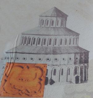 Zvartnots Cathedral - original facade