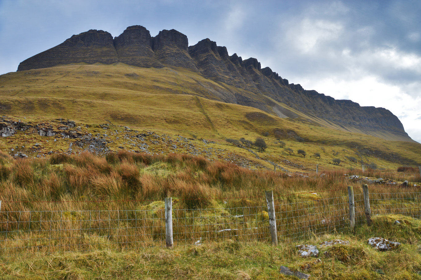 The northern side of Benbulben