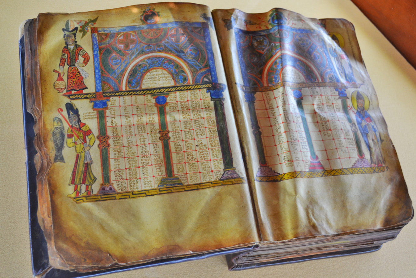 Naturally colored book in Armenian Language Exhibition