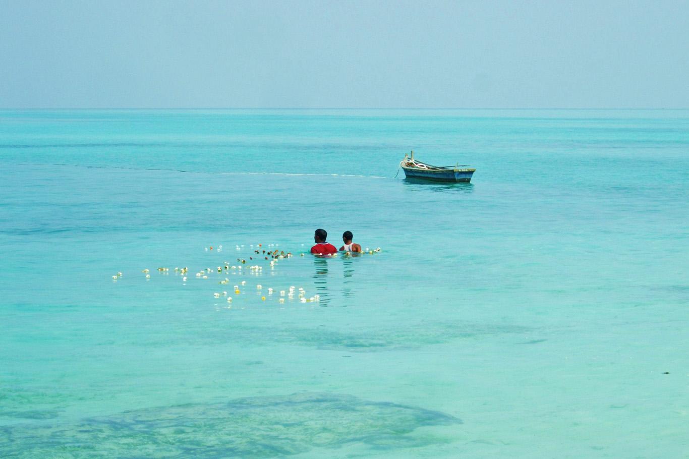 Fishermen of Agatti Island