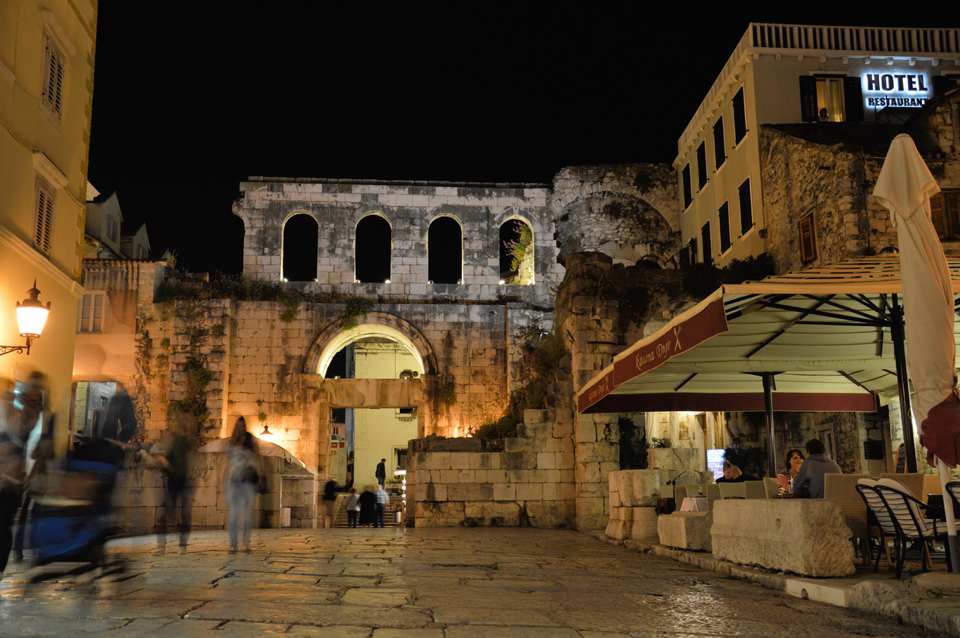 The Eastern Gate seen from Diocletian's Palace