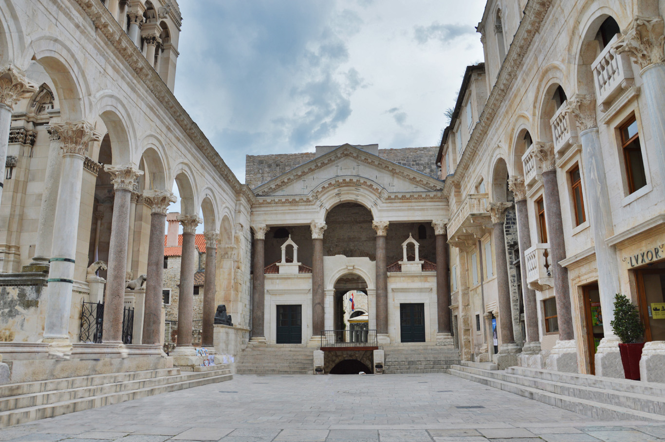 The Peristyle, Diocletian Palace