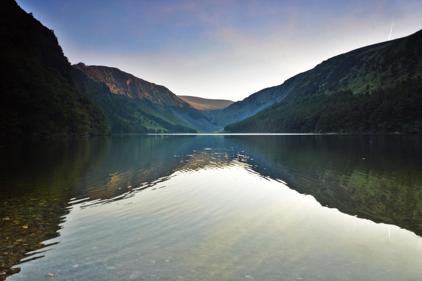 The Upper Lake at dusk