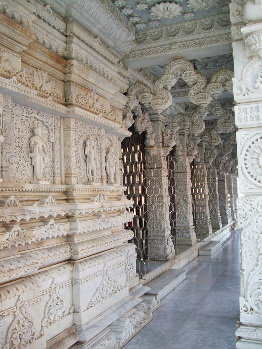 Temple near Swaminarayan Akshardham