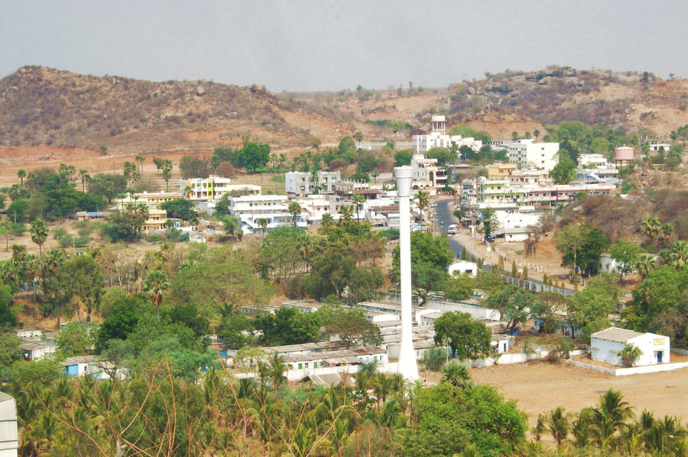 View from Paramanad Giri hill