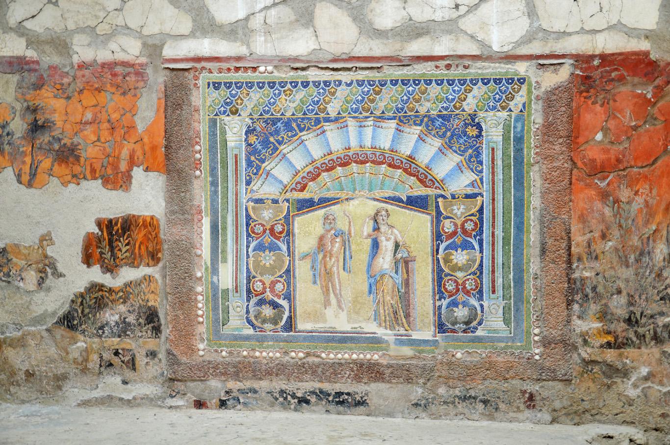 Herculaneum, a mosaic