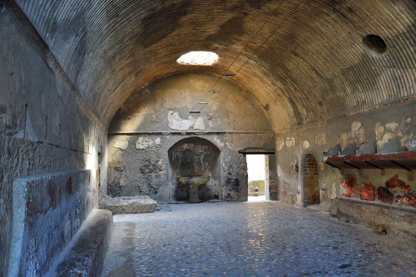 Baths in Herculaneum
