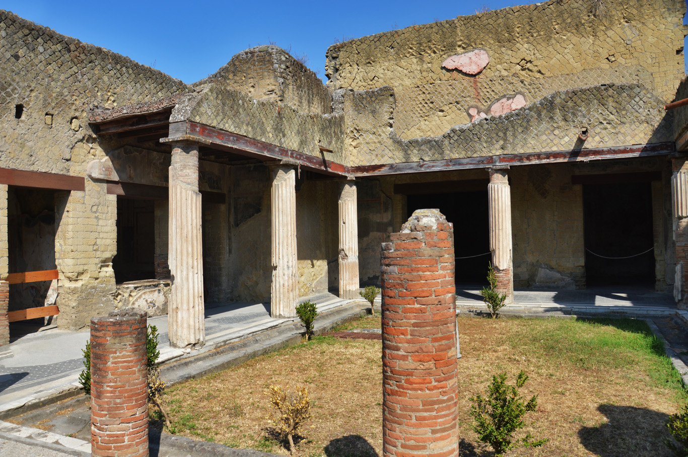 Herculaneum - ruins of one of the houses