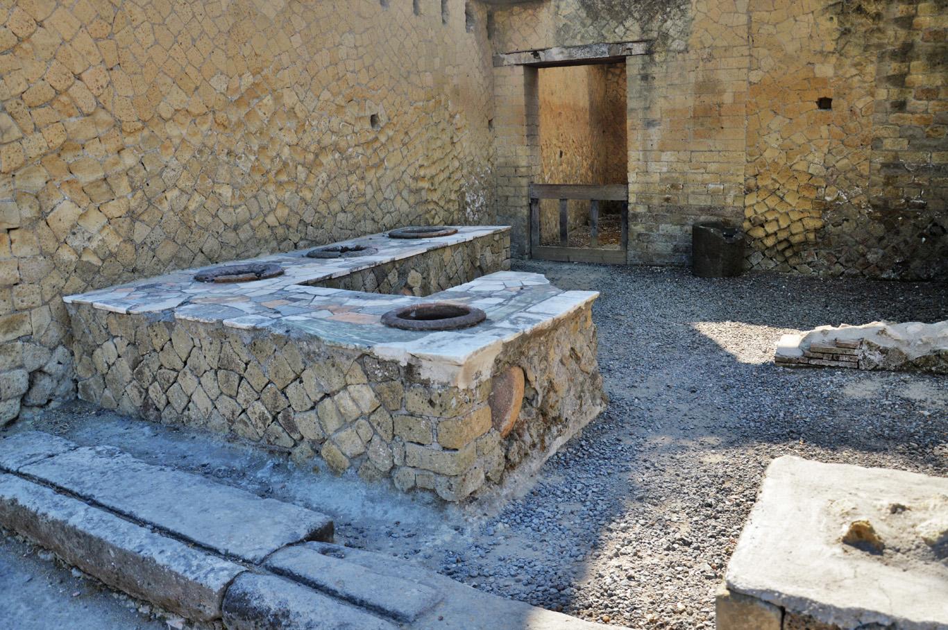 A shop in Herculaneum