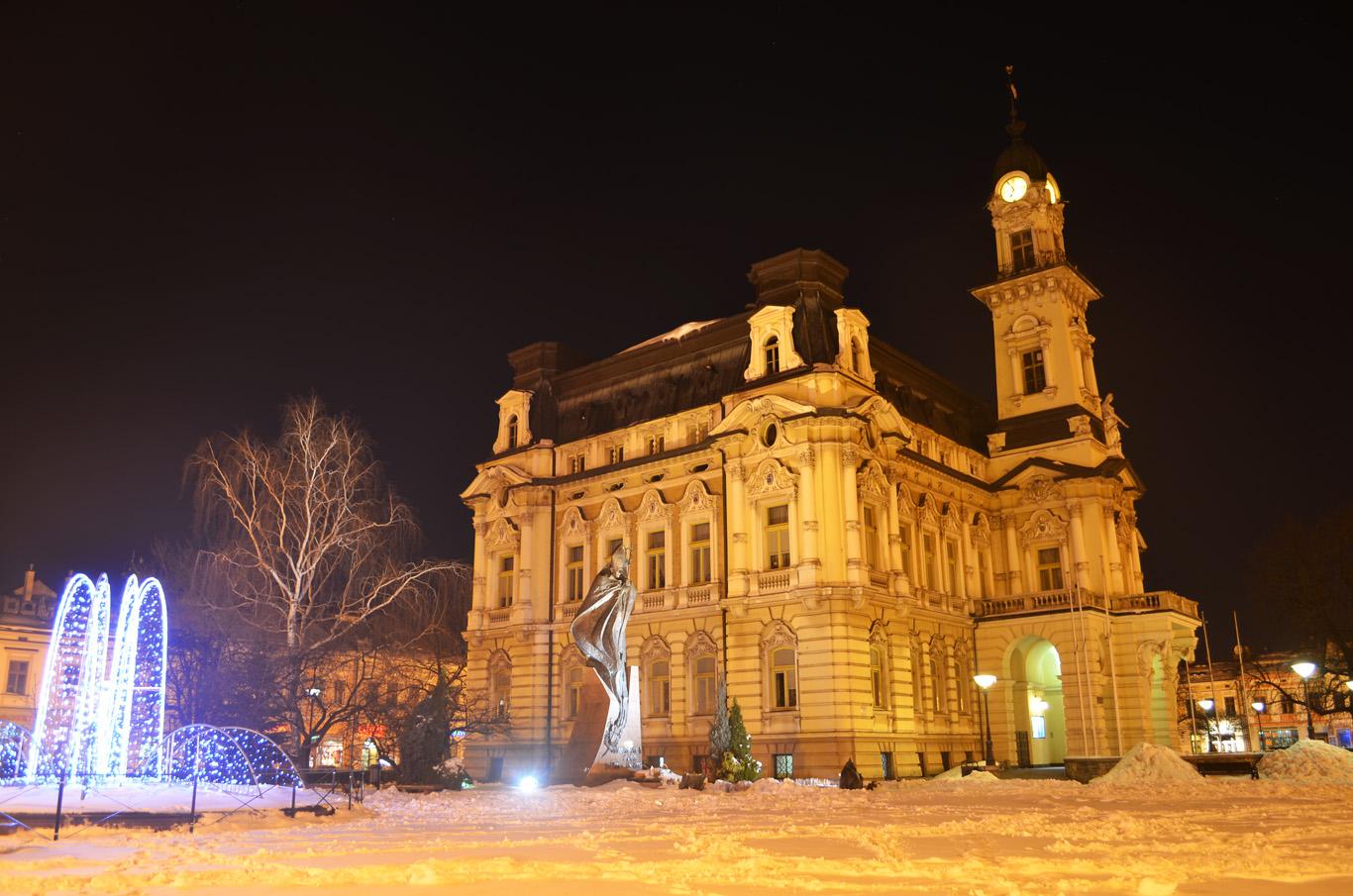 Nowy Sacz ratusz - town hall