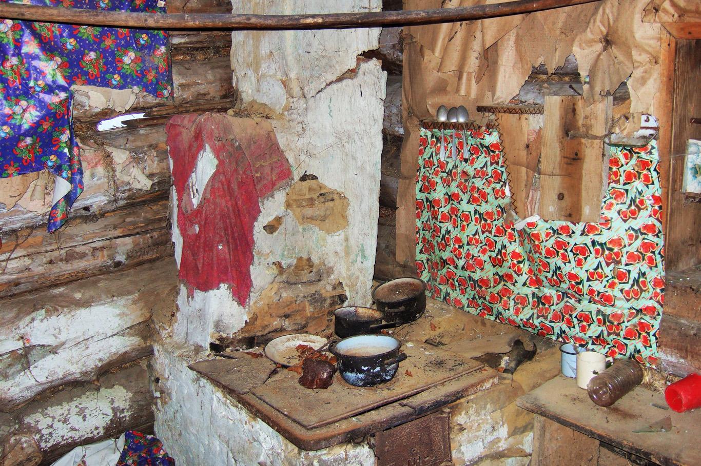 The cottage inside