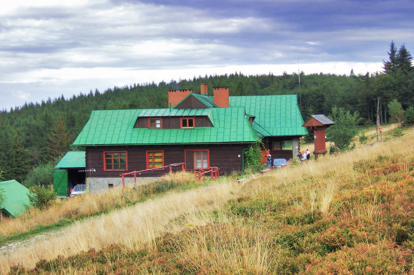 Mountain hostel in Labowska Hala
