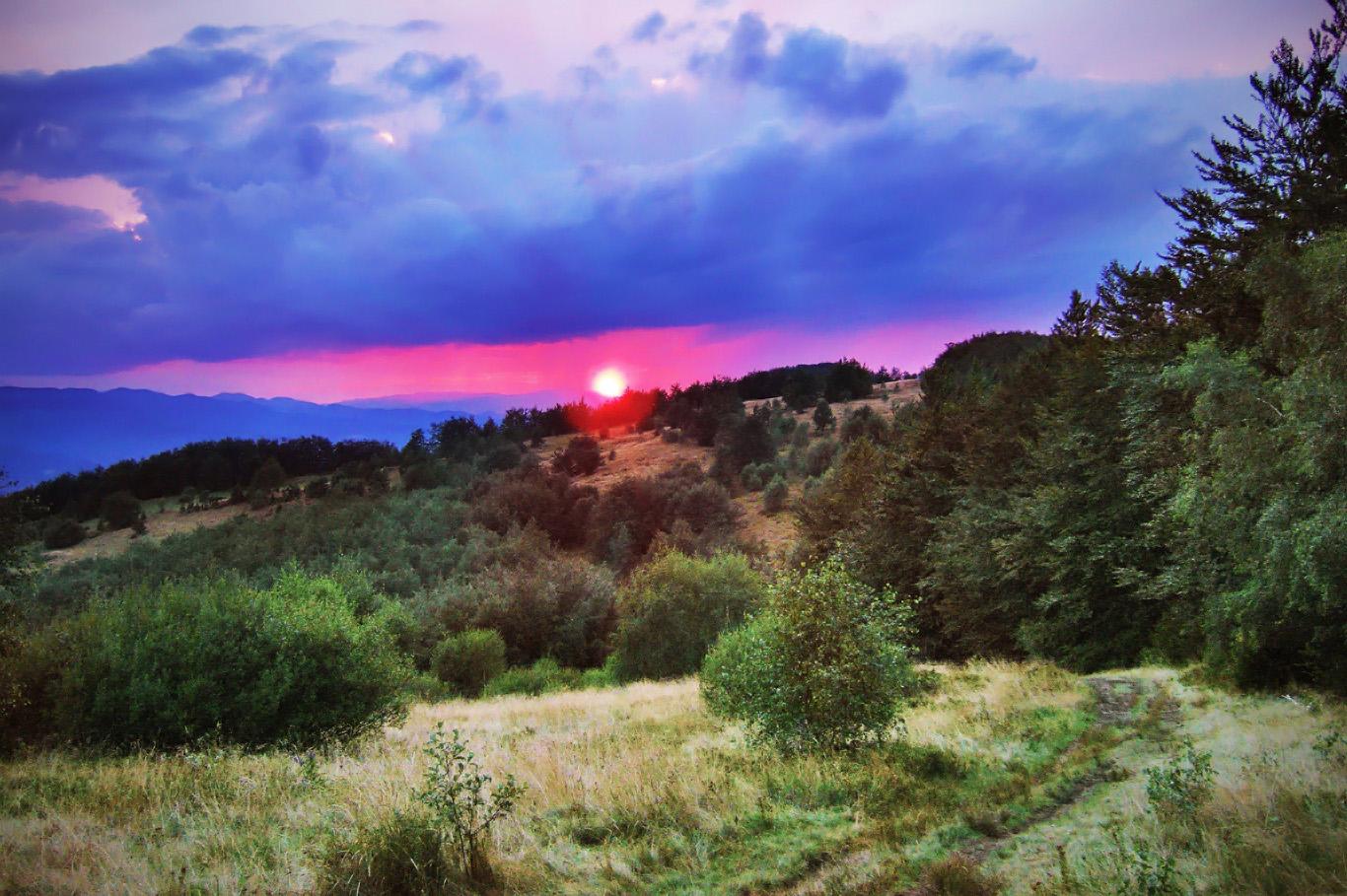 A beautiful sunset