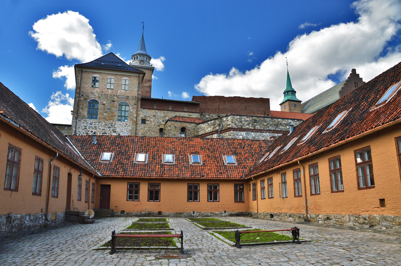Arkeshus Castle in Oslo