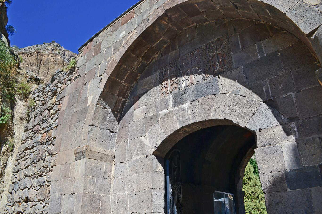 Gate to the Geghard Monastery