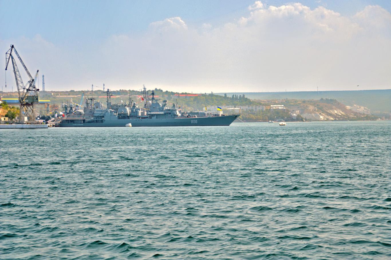 Navy Ships in Sevastopol