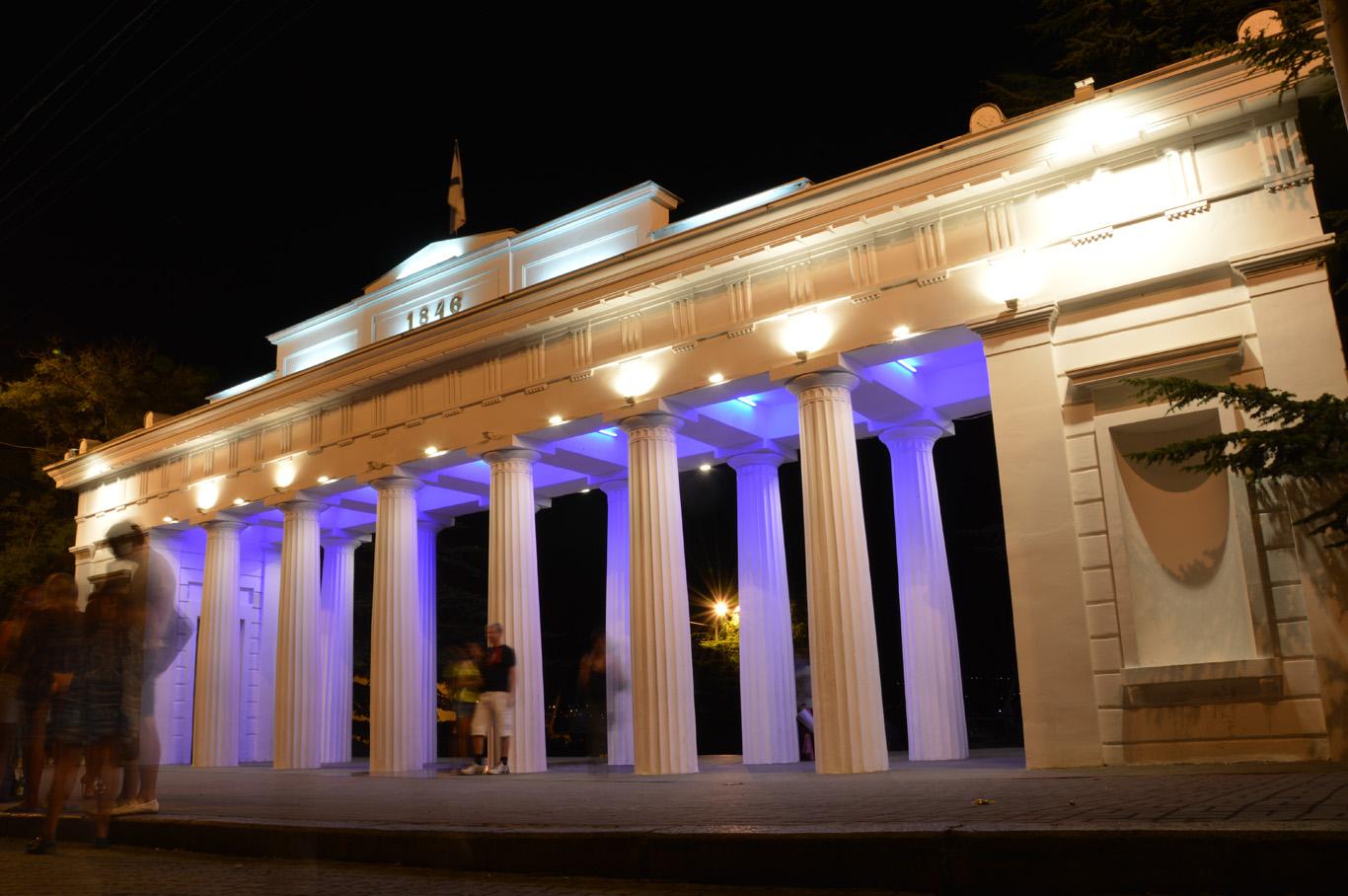 Sevastopol at night