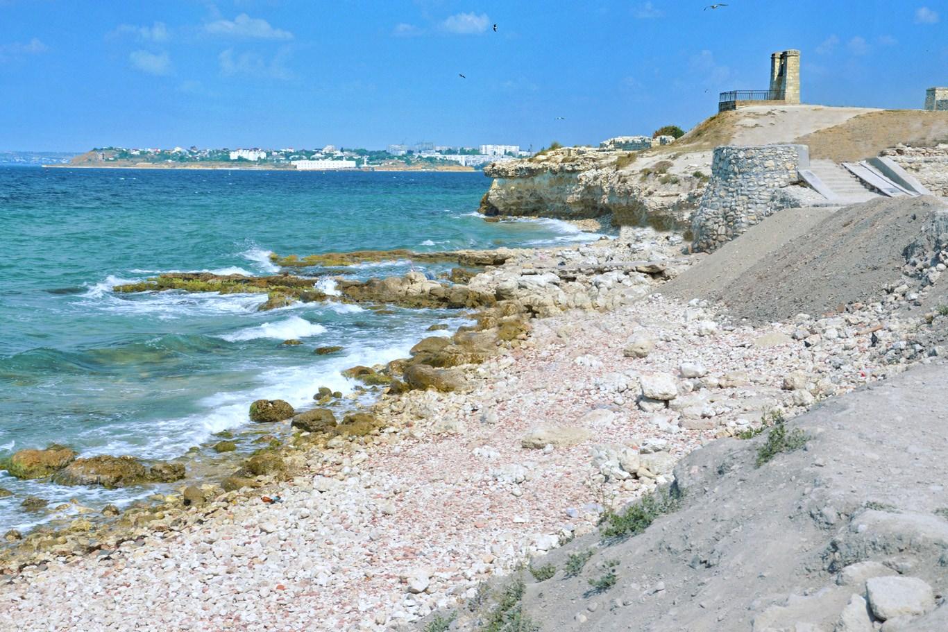 Black Sea at Chersonesus