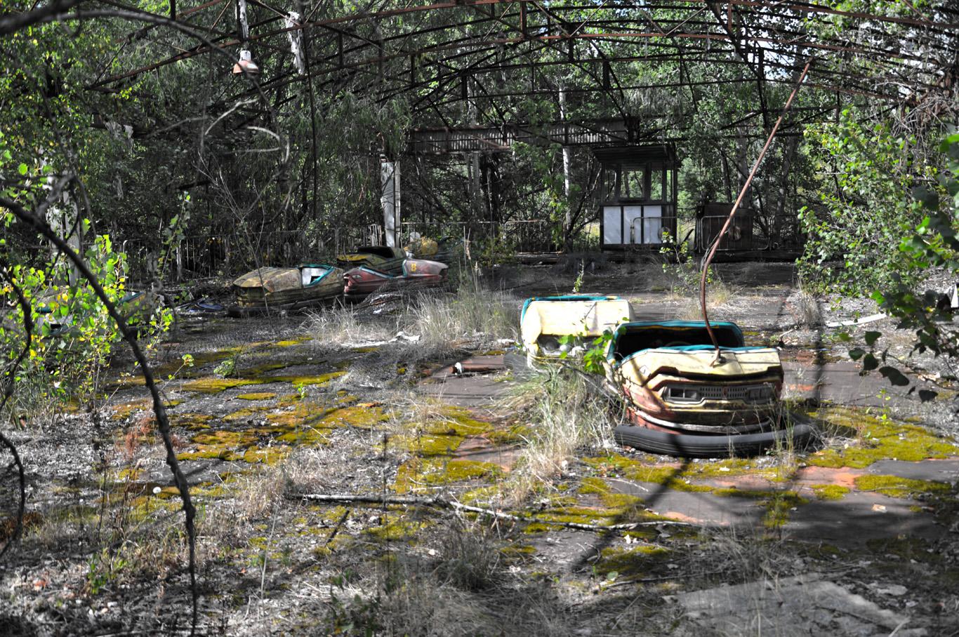 Amusement park - ruins