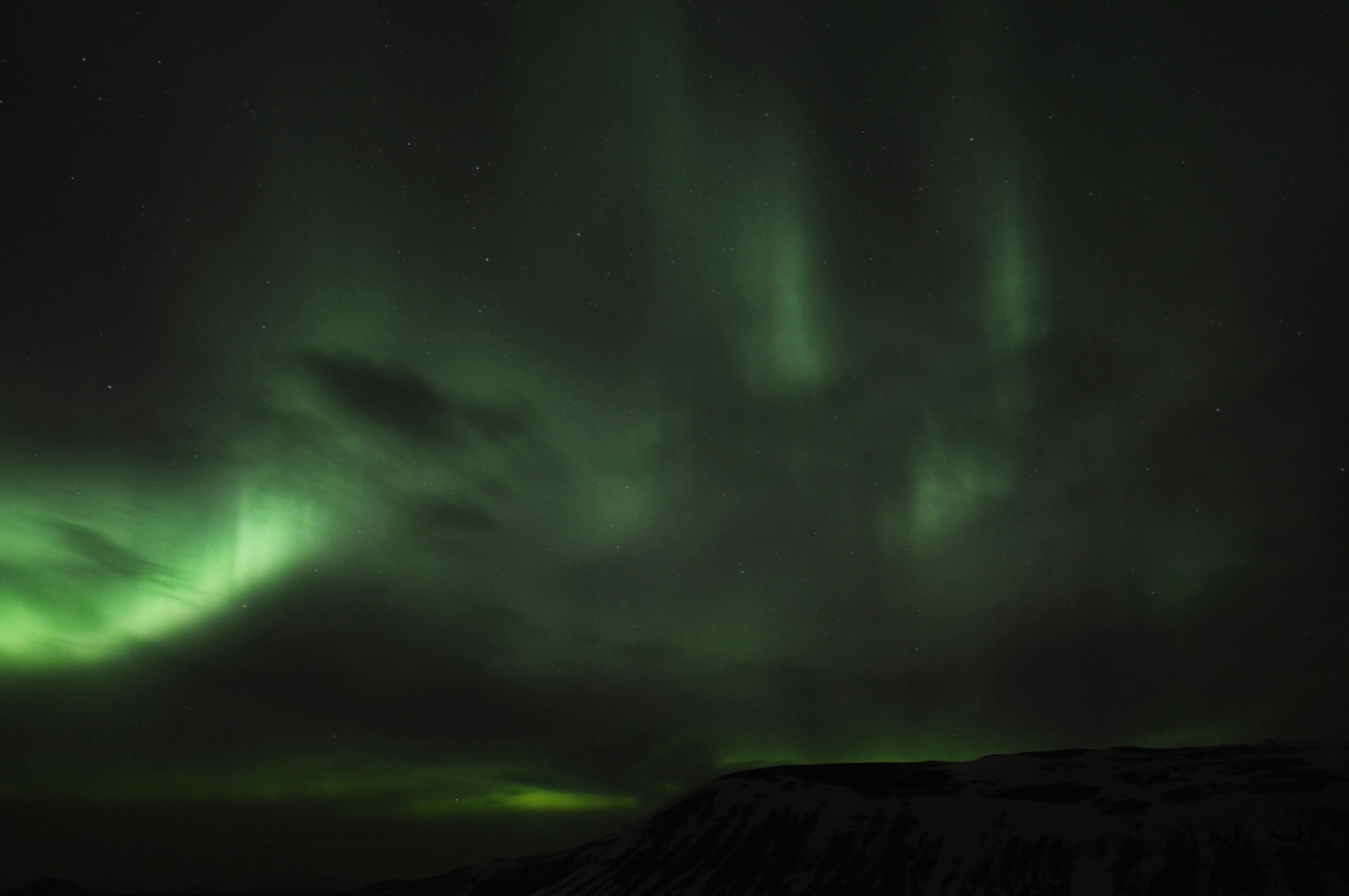 Chasing The Northern Lights Aurora Borealis In Iceland