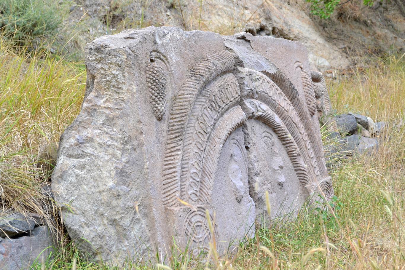 Beautifully decorated stones
