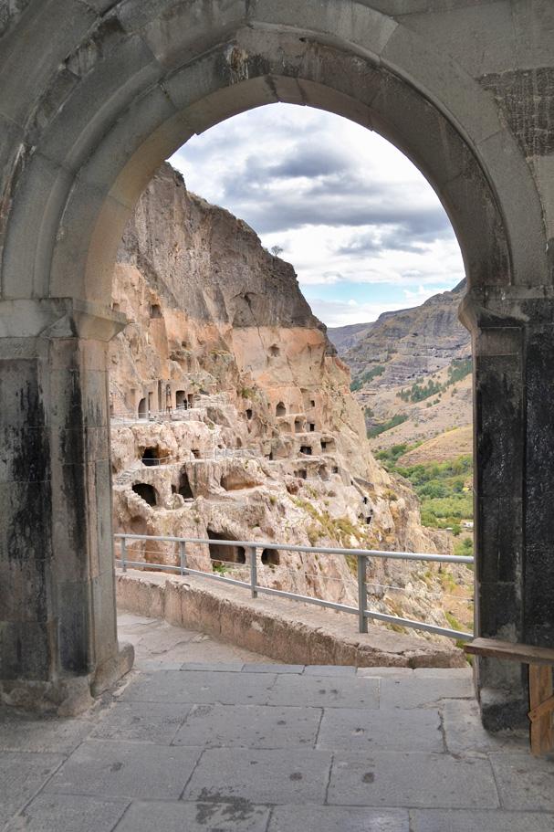 Vardzia, Georgia - Cave Monastery Carved in Rock