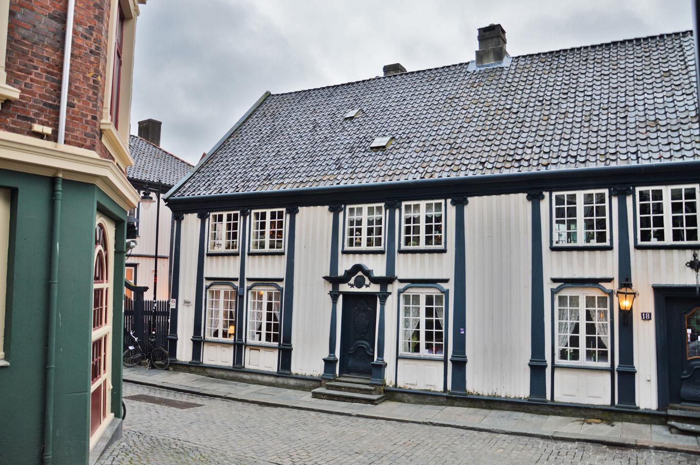 Wooden houses in Stavanger