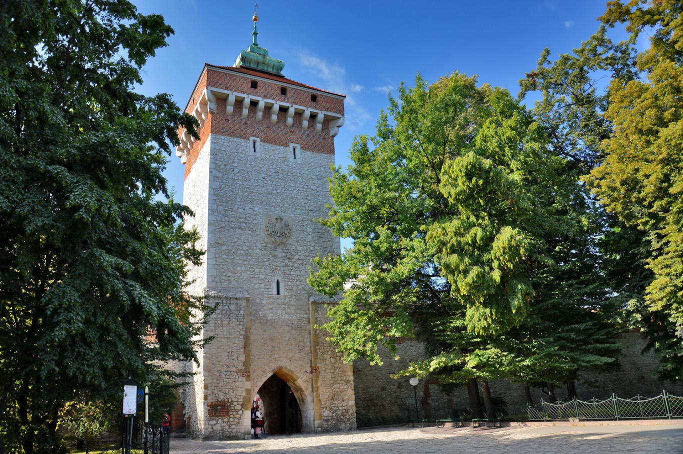Floriańska (St. Florian's) Gate