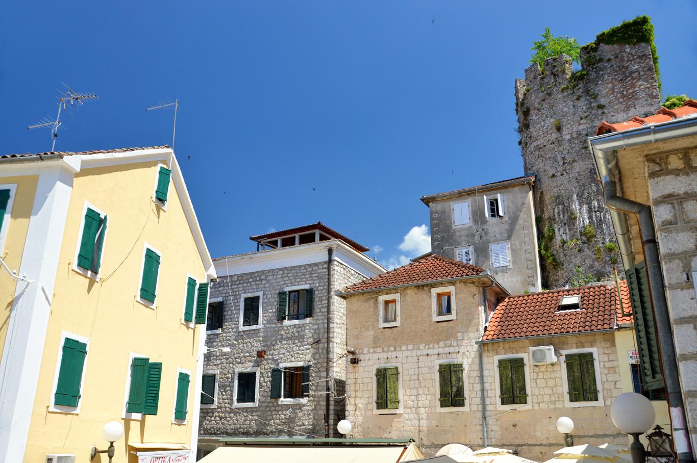 Old Town buildings