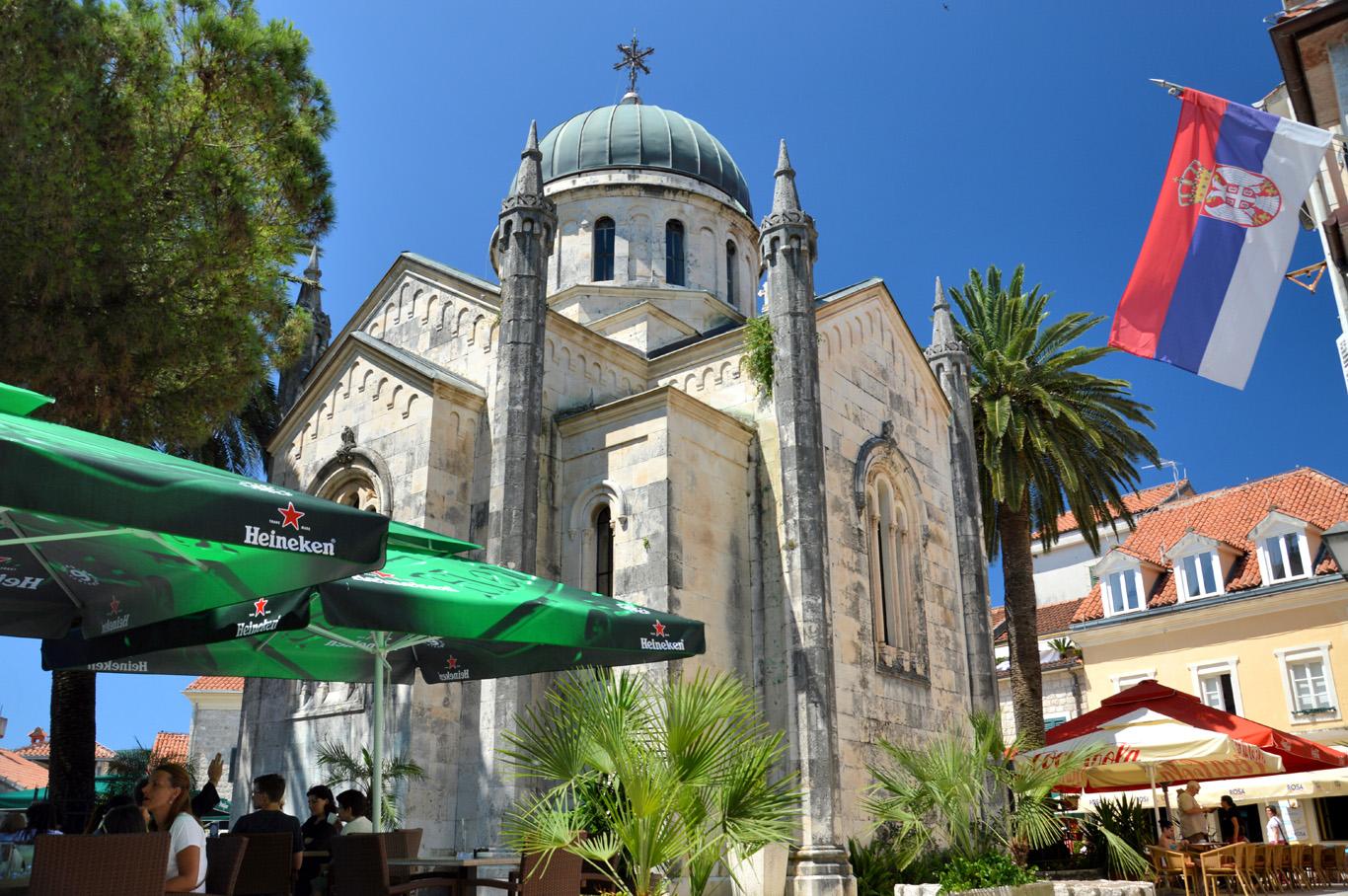 St. Michael Archangel's Church and Belavista Square