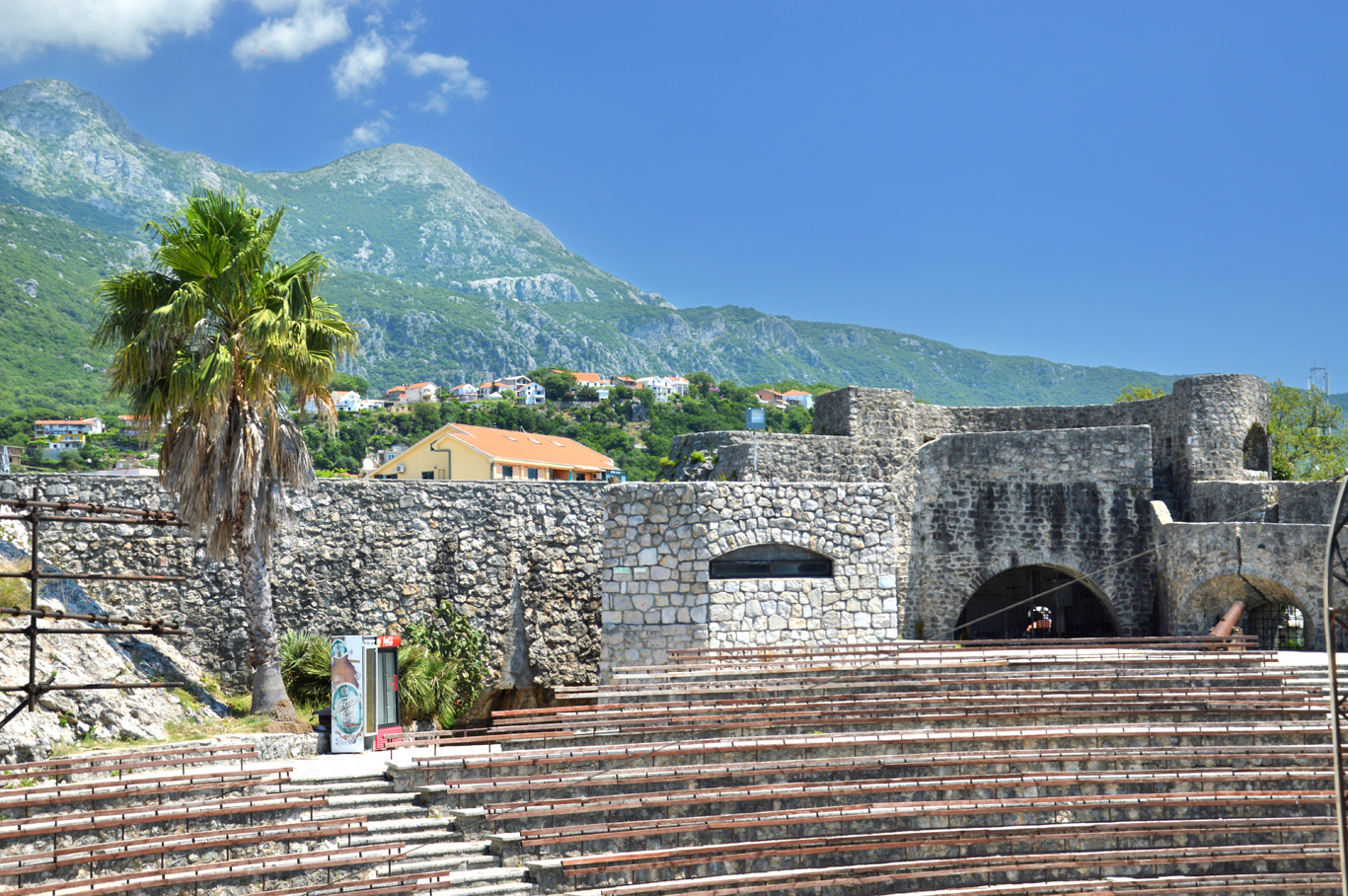 Open air theater in Kanli Kula Fortress