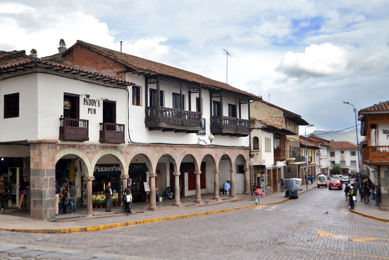 Irish Pub in Plaza de Armas