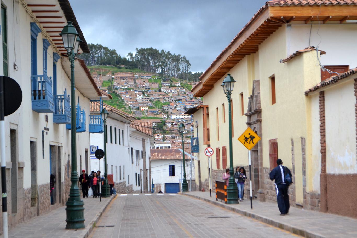 Dowtown Cuzco