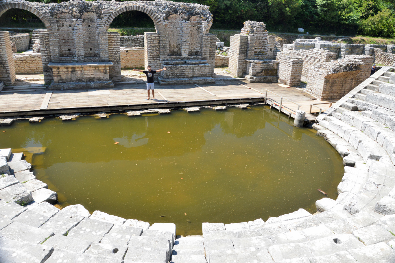 Butrint - The amphitheater