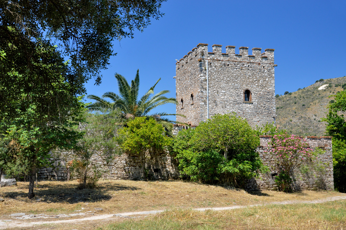 Medieval fortress (now museum) in Butrint