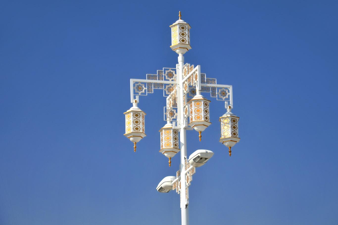 Piece of Art street lamp