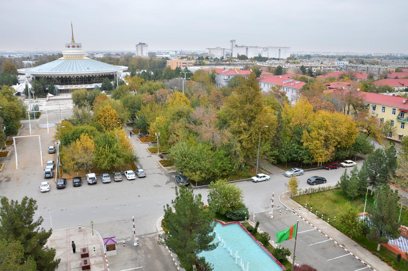 Old, Soviet part of Ashgabat