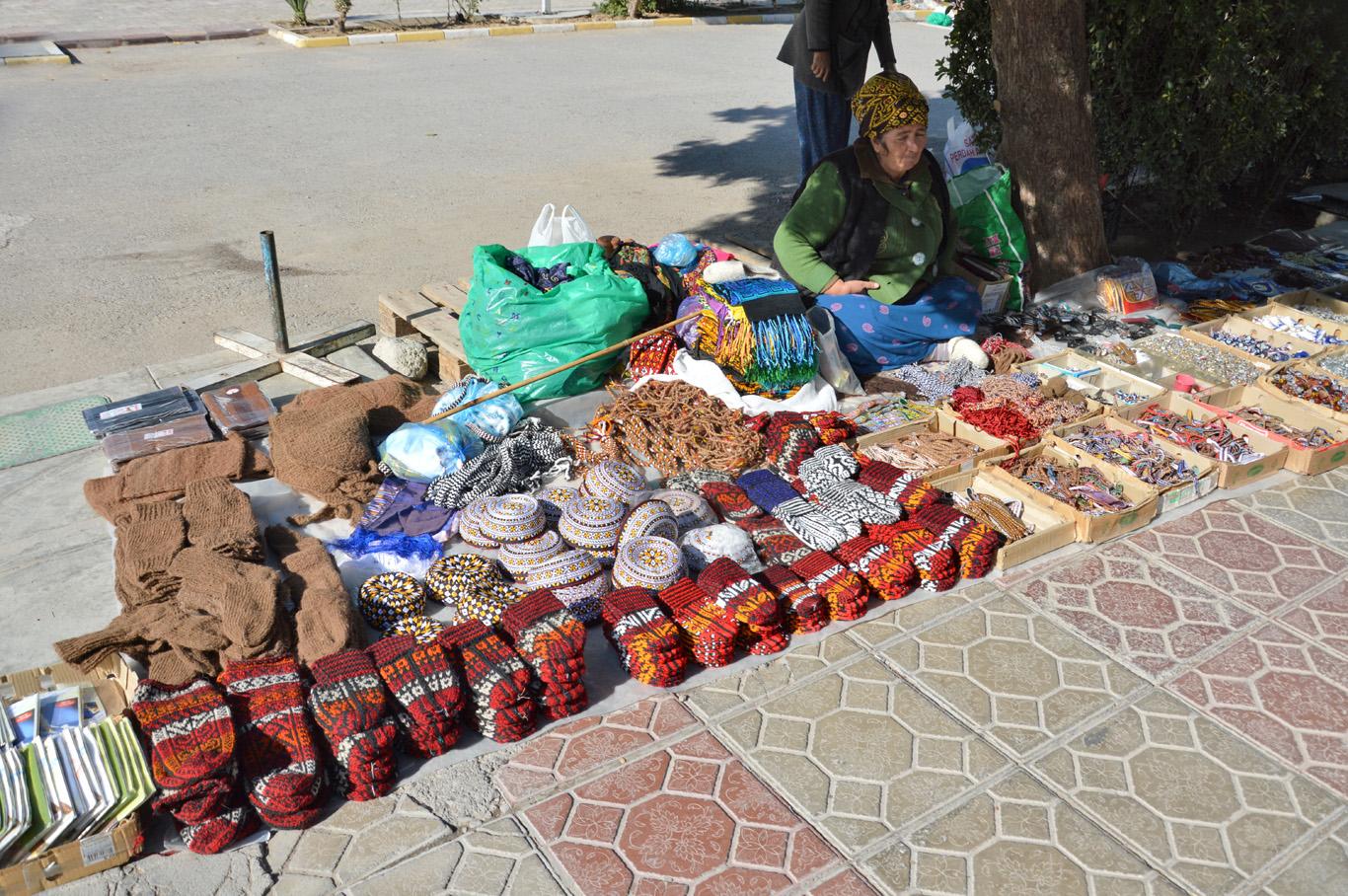 Original hand made souvenirs near Russian Bazaar