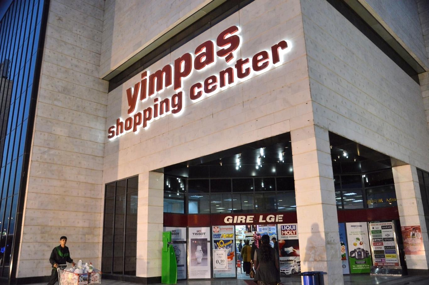 Yimpas shopping center