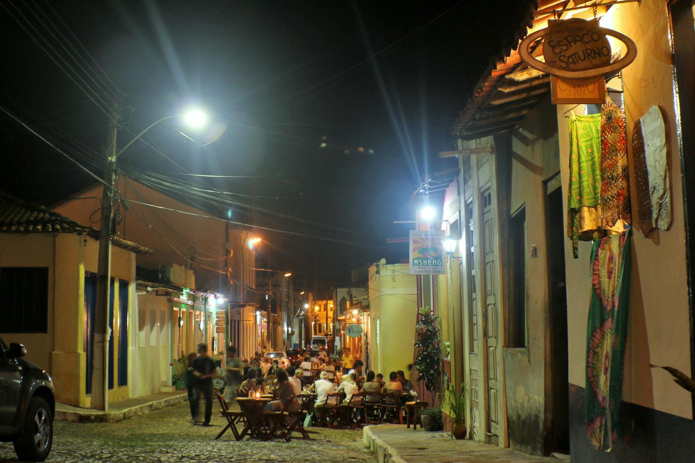 Lençóis at night