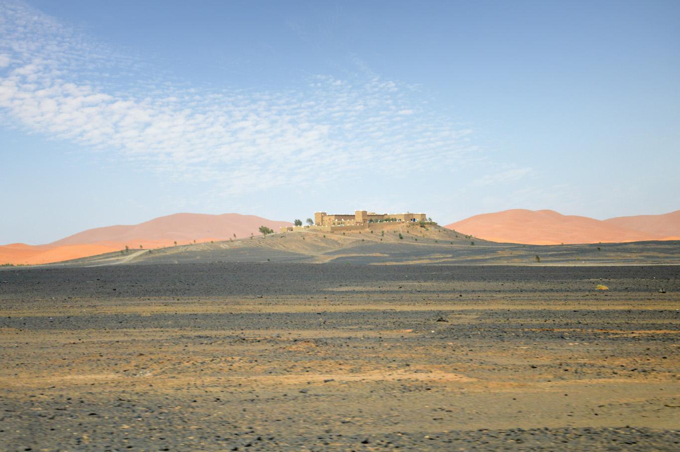 On the way to Sahara