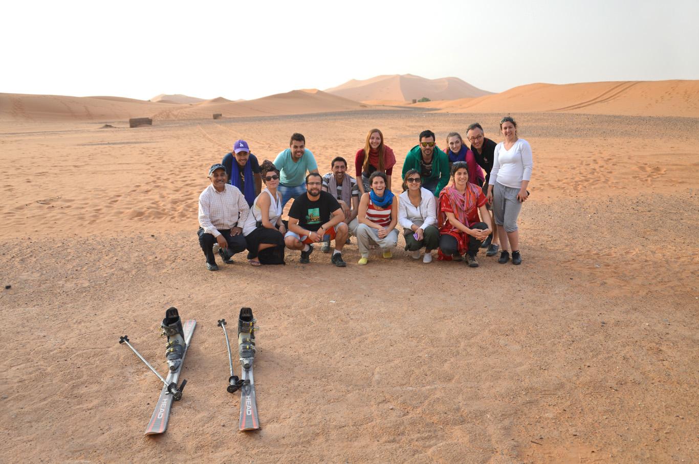 Our companions in Sahara
