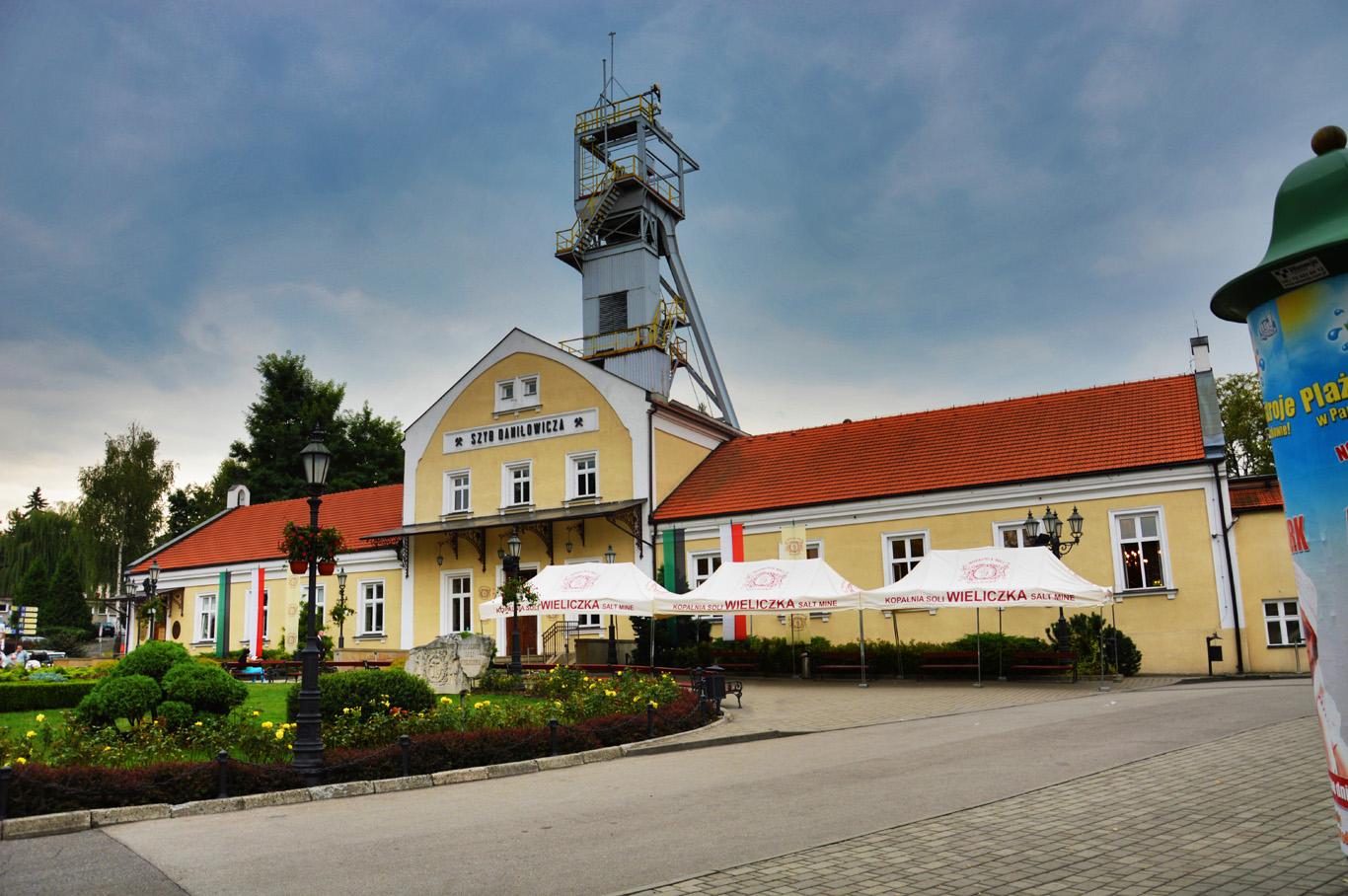Wieliczka Salt Mine building