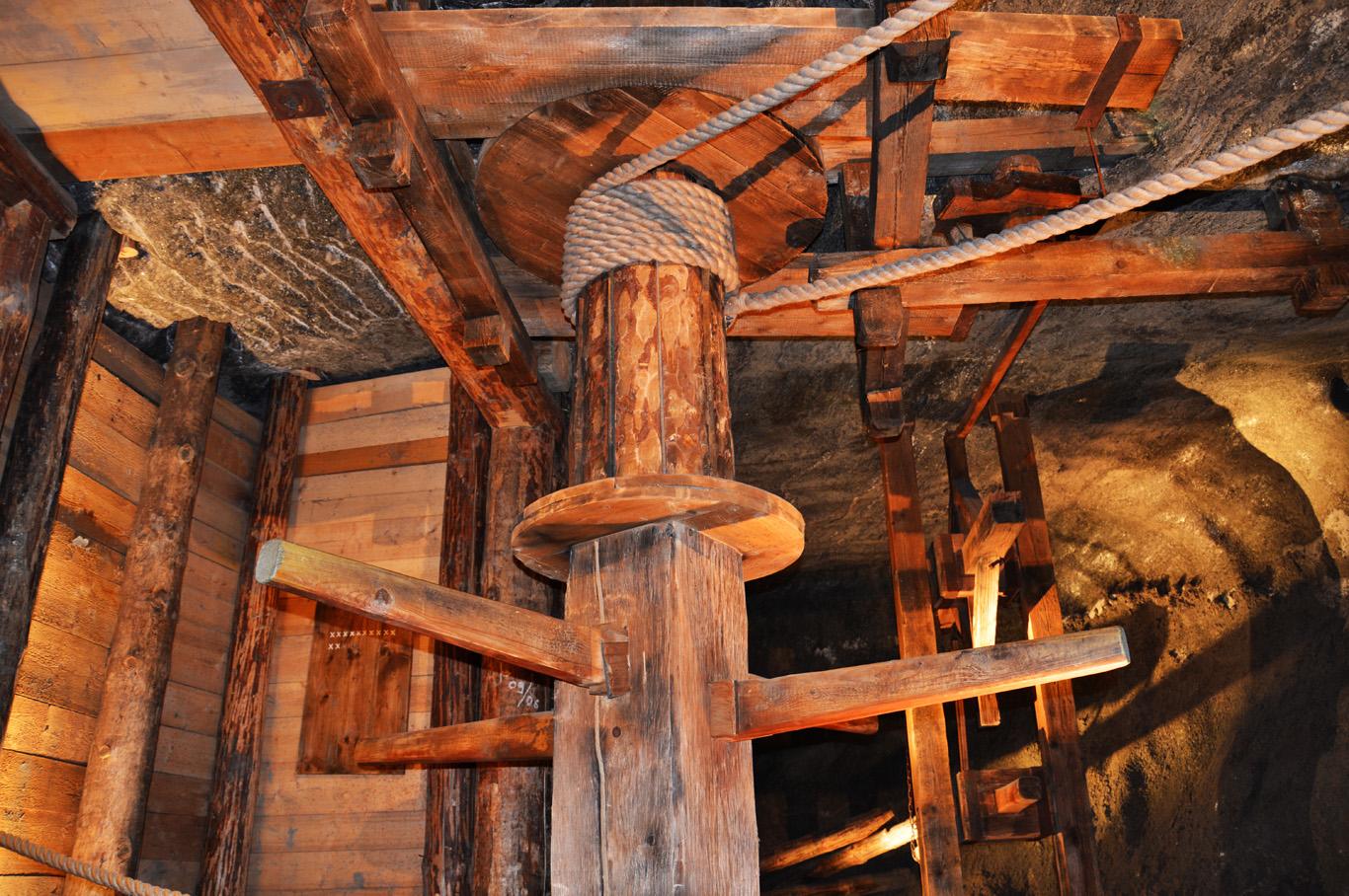 Wooden machinery