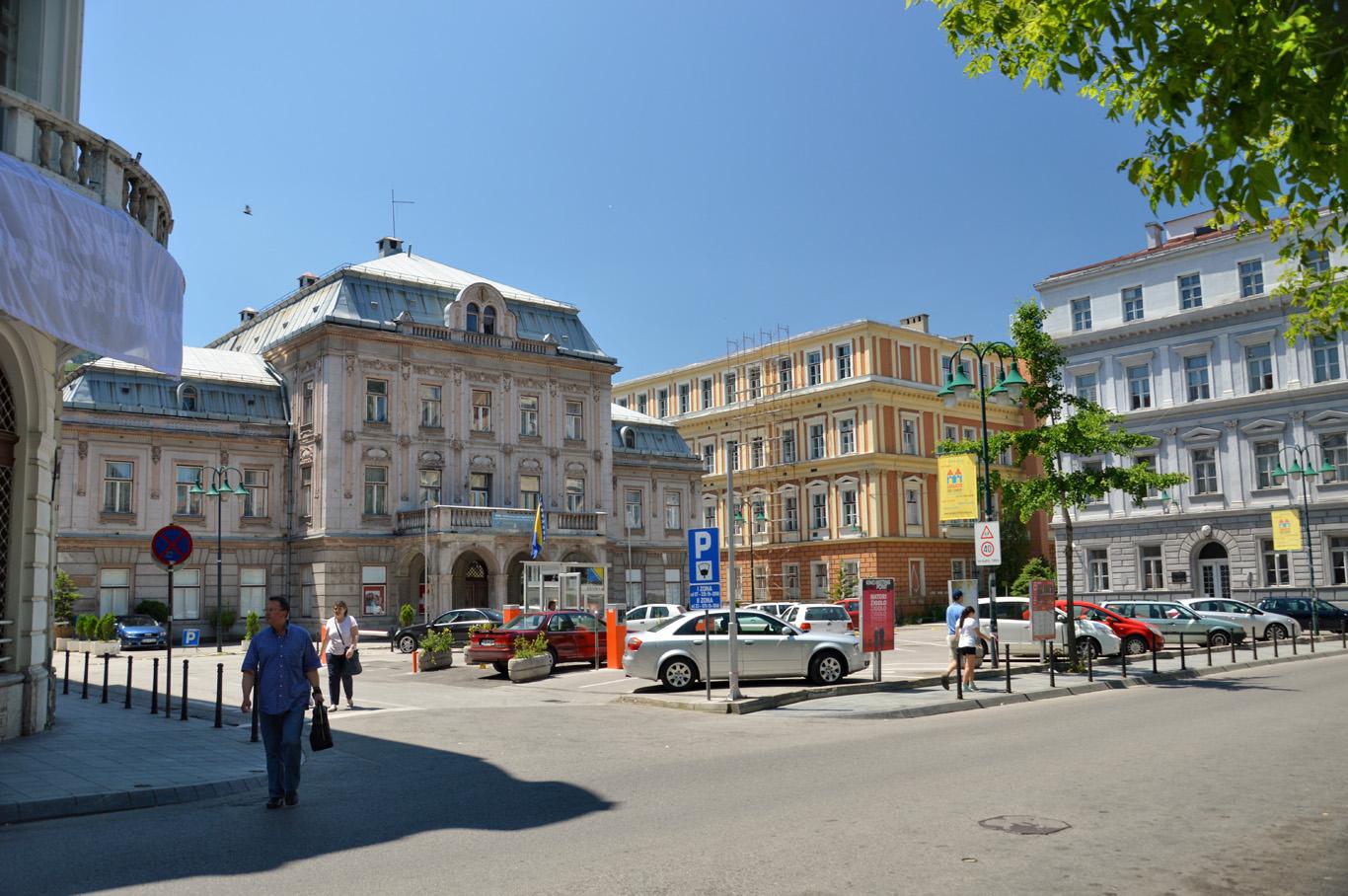 European style square